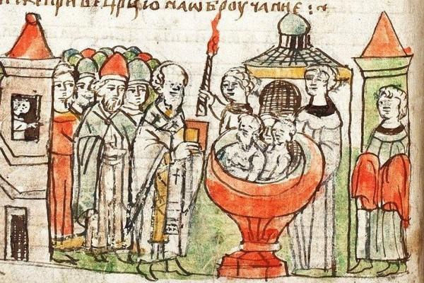 Крещение дружины князя Владимира