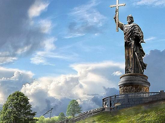 Памятник князю Владимиру не будут устанавливать на Воробьевых горах