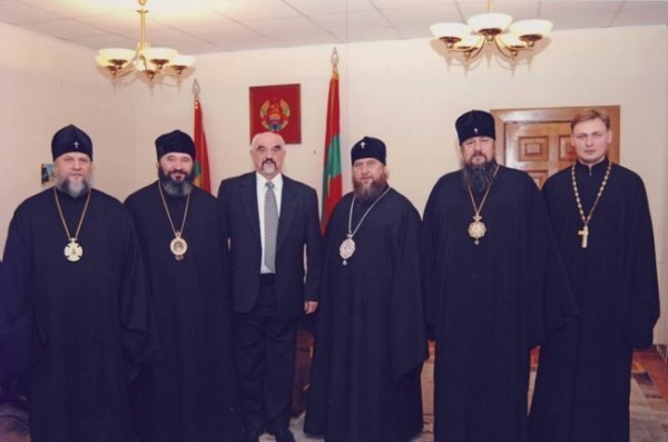 20 ноября 2006 года, встреча с президентом Приднестровской Молдавской Республики И.Н. Смирновым