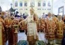 Патриарх Кирилл освятил Князь-Владимирский храм Московского епархиального дома