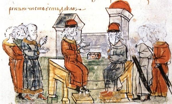 Речь грека-философа перед князем Владимиром