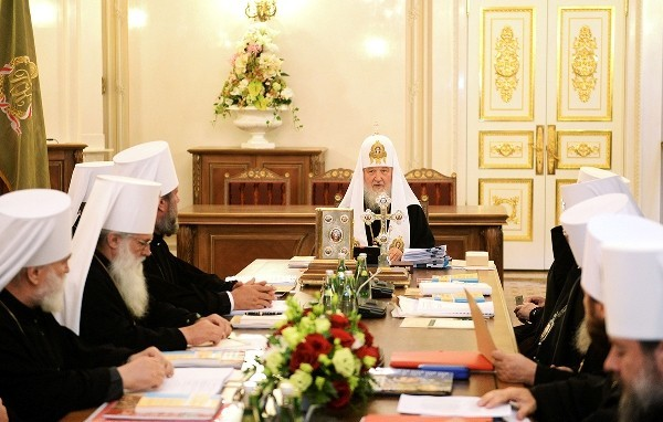 Журналы заседания Священного Синода от 13 июля 2015 года
