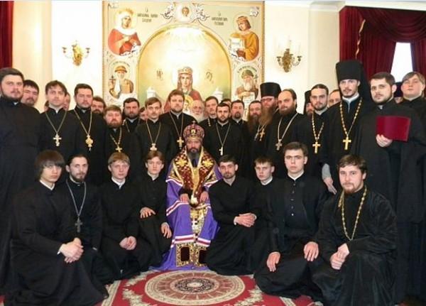 С духовенством Тираспольской епархии