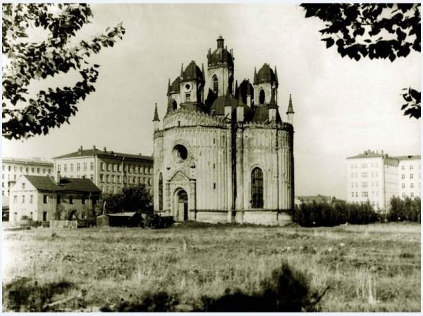 Чесменская церковь 1950-е