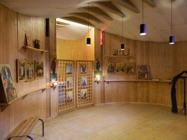 Православная часовня в Тезе