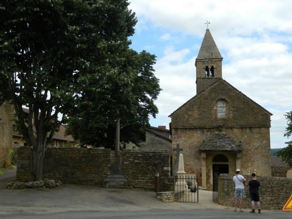 Романская церковь в Тэзе