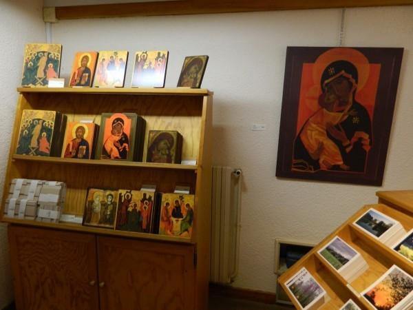 Православные иконы в магазине Тезе