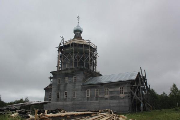 Гридинская Никольская церковь, 1790