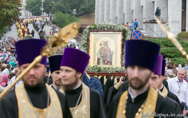 Как Святая Русь юбилей своего крестителя праздновала (ФОТО)