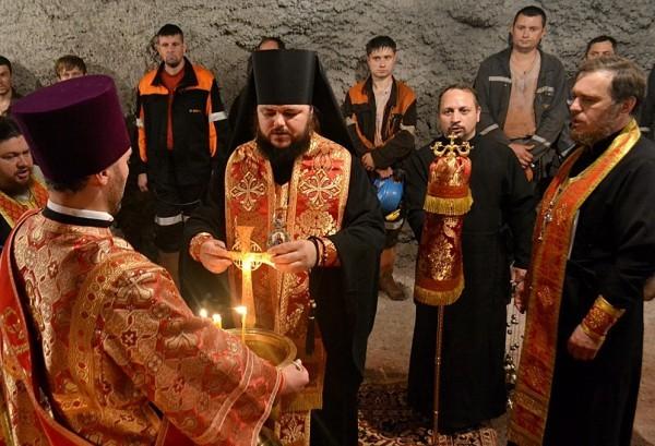 Первую в мире храм-часовню на глубине почти 1 км построили в Запорожской области Украины