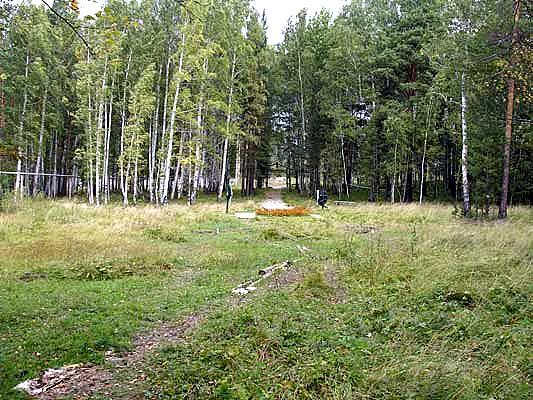 Старая Коптяковская дорога. Вид на Романовский мемориал с южной стороны. Фото: bergenschild.ru
