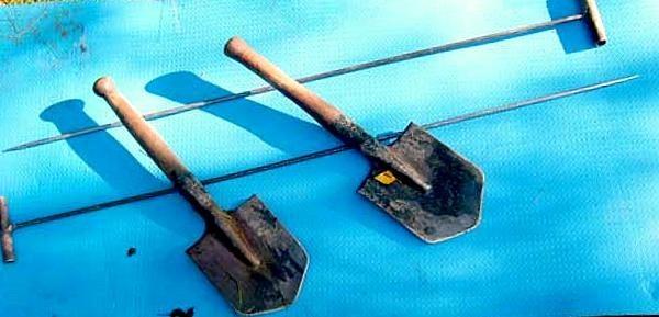 Те самые щупы и лопатки Фото: bergenschild.ru