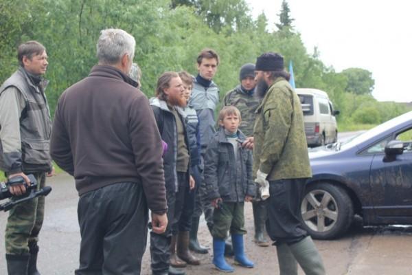 Встреча на дороге с отцом Варсонофием