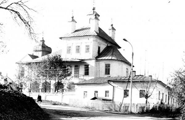 Знаменский храм пос. Лежнево. 1980-е годы