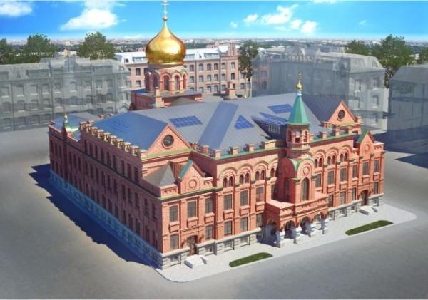 Московский епархиальный дом: история и современность