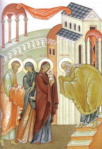 Церковные праздники - Сретение Господне