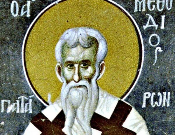 Церковь чтит память священномученика Мефодия, епископа Патарского