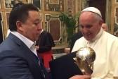 Глава Украинского еврейского комитета пригласил Папу Римского на Украину