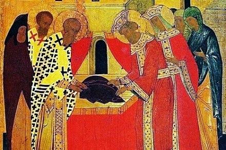 Церковь вспоминает положение честной Ризы Пресвятой Богородицы во Влахерне