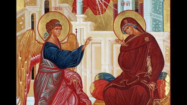 Православные праздники - Благовещение