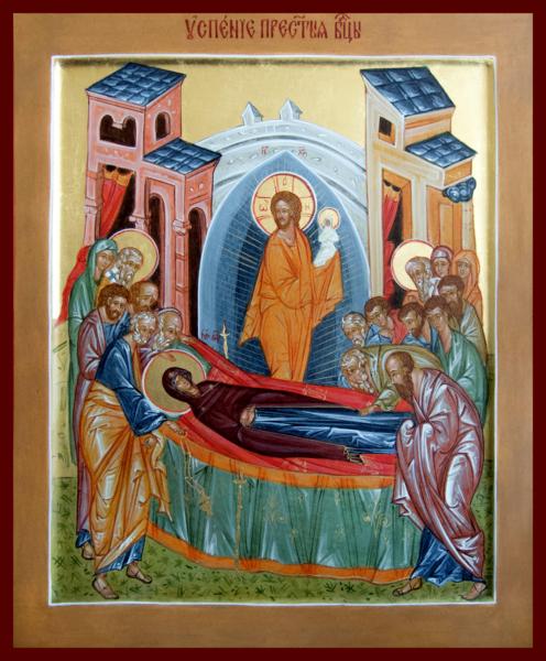 Церковные праздники - Успение Пресвятой Богородицы