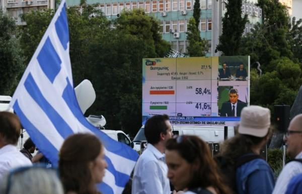 Жители Греции проголосовали против мер экономии – первые итоги референдума