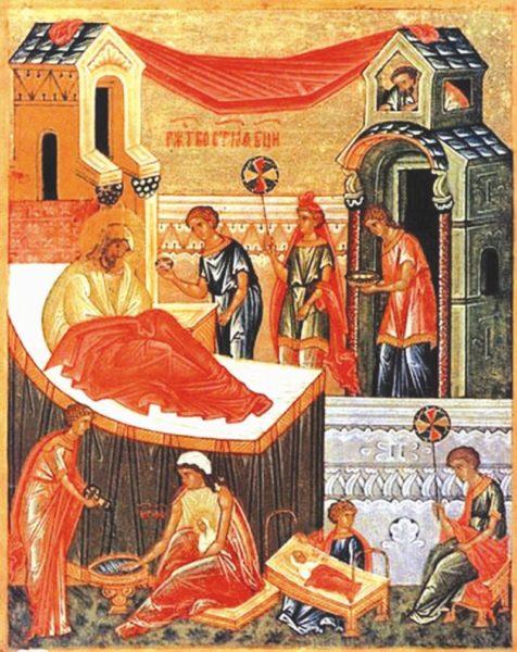 Церковные праздники - иконография