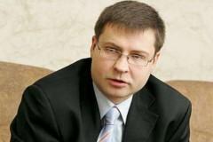 Вице-председатель Еврокомиссии Валдис Домбровскис: Греция должна остаться в еврозоне