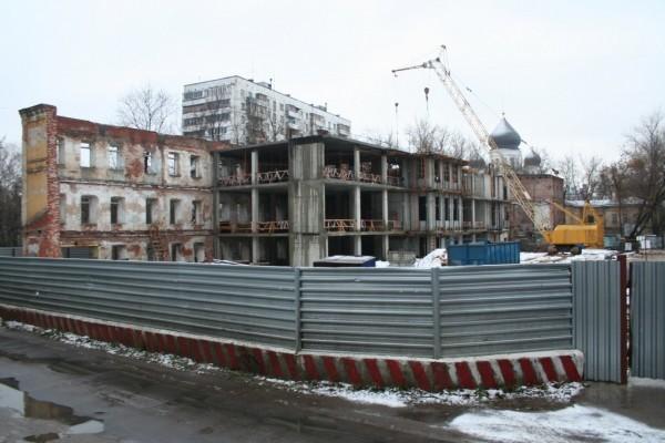 10.11.2006 г. Строительство центра