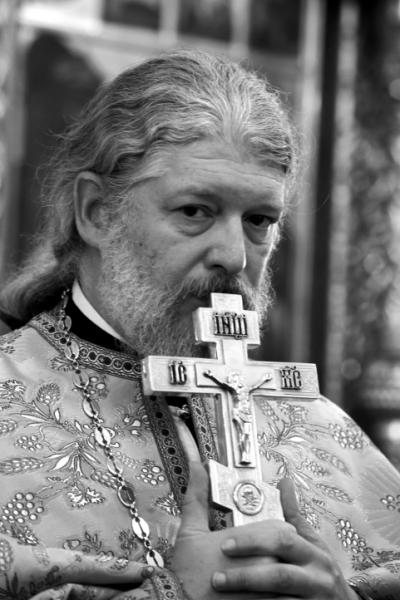 Отец Алексий Уминский. Фото: Юрий Рост / «Новая газета»
