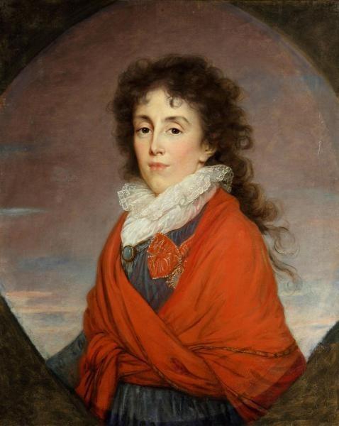 Портрет жены полководца, Е. И. Г.-Кутузовой, кисти Э. Виже-Лебрен, 1795 год