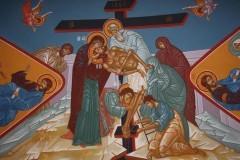 Парус на крестной мачте. Снятие с Креста