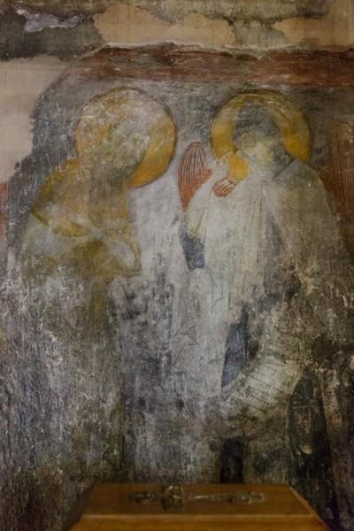 Ангел вручает преподобному Пахомию общежительный монашеский устав