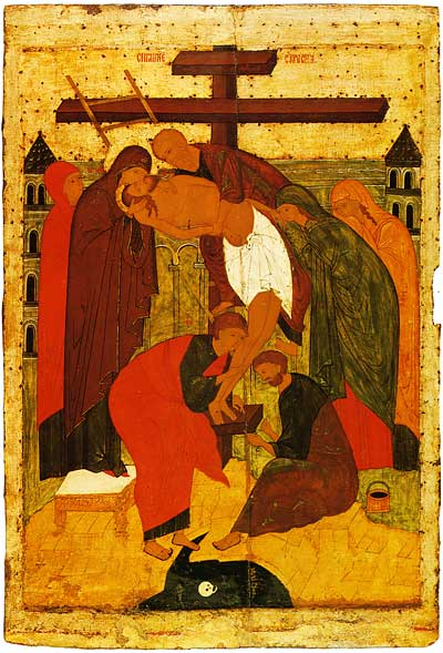 Снятие со Креста. Конец XV в