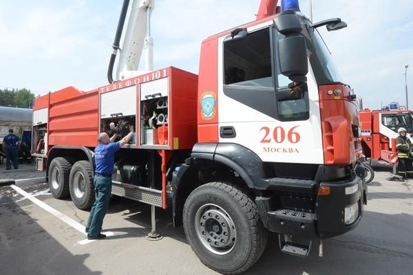 Пожар в районе Данилова монастыря ликвидирован
