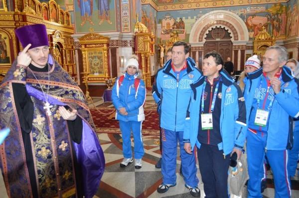 Общение с участниками сурдолимпийских игр в Ханты-Мансийске