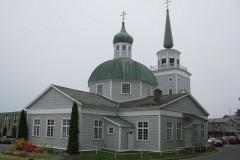 Кафедральный собор святого Михаила на Аляске страдает из-за непрекращающихся проливных дождей