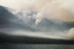 Как горит Байкал  (22 фото)