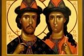 Церковь чтит память святых благоверных князей Бориса и Глеба