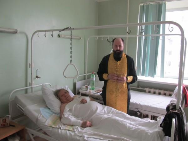 Женщина, выжившая в автокатастрофе в Хабаровске, приняла Крещение