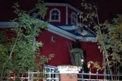 Неизвестные пытались поджечь храм в Хабаровске