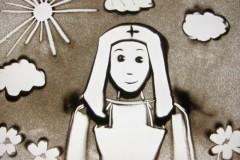 Песочный мультфильм о сестрах милосердия покажут в Москве