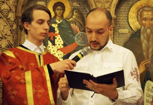 В православном храме