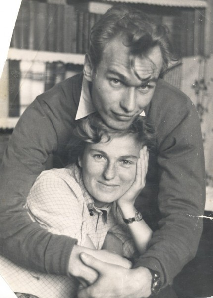 Валерий Ганичев супругой Светланой в 1959 году. Фото: litnik.org