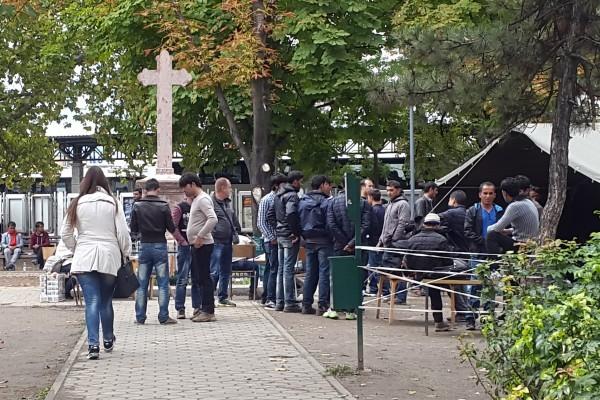 Беженцы в Сербии – под защитой Креста