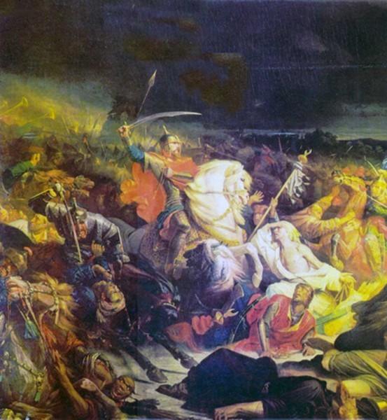 Ивон Адольф. «Битва на Куликовом поле»