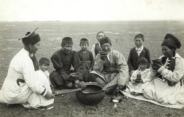Донские калмыки, конец XIX века