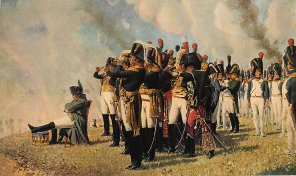 Наполеон на Бородинских высотах. Художник Верещагин (1897)
