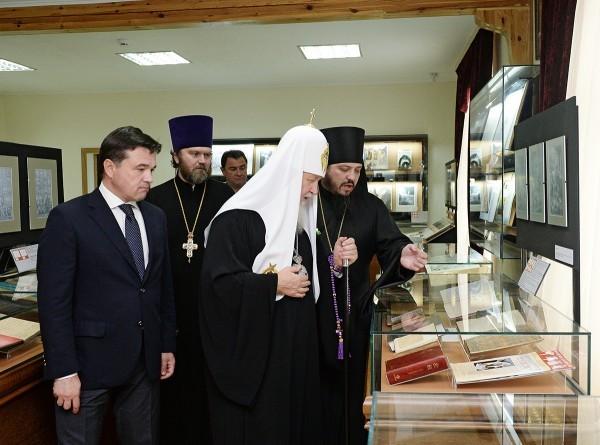 Патриарх Кирилл открыл новую экспозицию в музее Библии