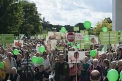 Марш против абортов и эвтаназии в Берлине собрал около 5000 человек